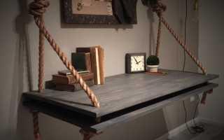 Как сделать полки для дома своими руками на стену из подручных материалов