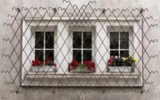 Решётки на окна первого этажа: типы решёток и материалы их изготовления