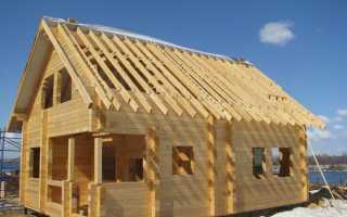 Строительство дома из бруса своими руками: пошаговая инструкция