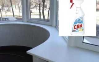 Как отмыть пластиковый подоконник от желтизны и ремонта: простые способы