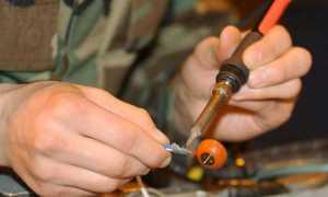 Как правильно паять паяльником провода: медь, алюминий