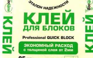 Как выбрать клей для газосиликатных блоков: обзор популярных марок, фото, цены