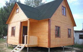 Устанавливаем дом на свайно-винтовой фундаменте: плюсы и минусы