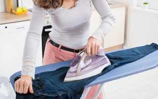 Как убрать блеск с брюк от ношения и избавиться от блестящих пятен на штанах, на ягодице и на одежде