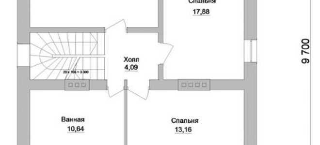 План одноэтажного дома с мансардой до 150 кв.м: 6×6, 10×10, 8×10, 10×12, 9×8