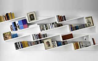 Внутренние книжные шкафы в духе эпохи