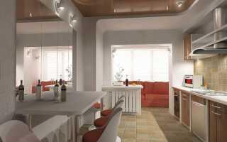 Интеграция балкона с кухней: дизайн, согласование, варианты, утепление
