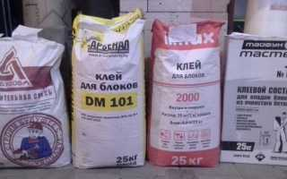 Клей для пеноблоков: расход раствора на 1 м3 и 1 м2 кладки, что наносить – клей или цемент