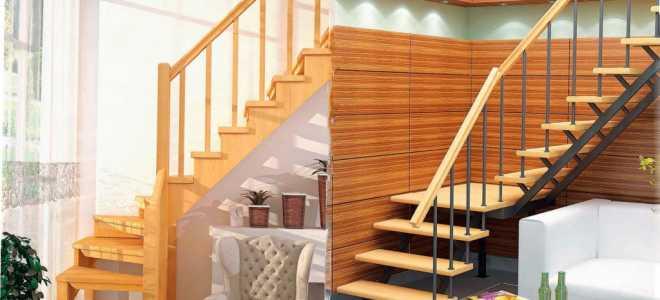 Деревянная лестница на металлическом каркасе: особенности и типы
