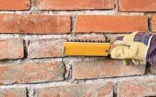 Очистка кирпича от раствора: химический и механический способы очищения от цементного состава