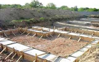 Ленточный фундамент под баню, как сделать: все этапы работ