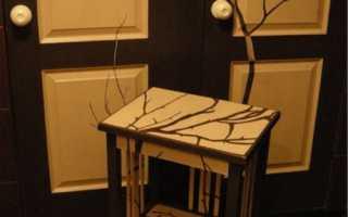 Инструкция по реставрации старой мебели своими руками