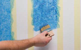 Покраска обоев своими руками: пошаговая инструкция