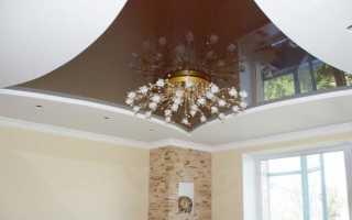 Комбинированные потолки: гипсокартон и плиточный потолок (12 фотографий)