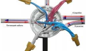 Расключение кабеля для освещения в коробке: как сделать своими руками