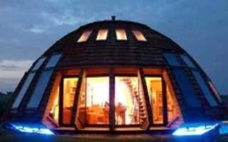 Купольный дом своими руками с нуля