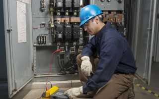 Проверить изоляцию кабеля мегомметром