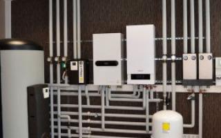Комбинированные системы отопления: возможности организации, способы монтажа, видео