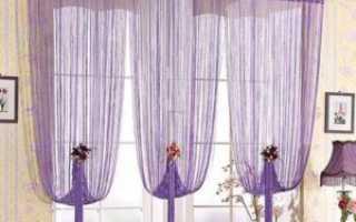 Как выбрать веревочные шторы для интерьера дома