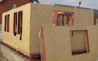 Как утеплить щитовой дом снаружи и изнутри для зимнего проживания своими руками