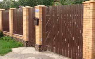 Что такое еврозабор: металлический штакетник, из бетона, дерева и сетка