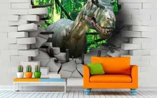 Стоит ли делать 3D обои в интерьере, идеи для гостиной, спальни и кухни