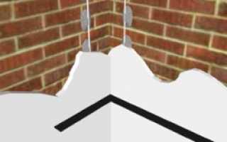 Как сделать ровный и прямой угол при штукатурке стен