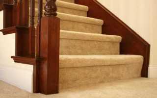Отделка лестницы ковролином: пошаговая инструкция