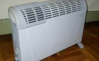 Настенные электрические конвекторы отопления с терморегулятором – принцип действия, особенности