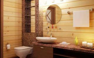 Как сделать ванную комнату в частном каркасном доме своими руками