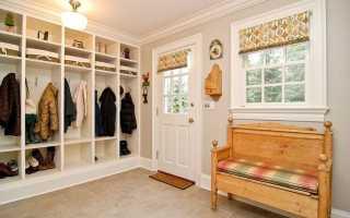 Как сделать мебель в прихожей в частном доме