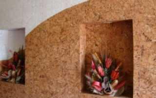 Пробка на стену: фото в интерьере, цена, как поклеить