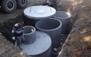 Сливная яма в частном доме своими руками: виды из кирпича, бетонных колец и покрышек