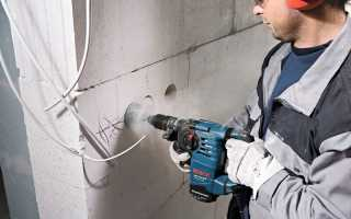 Как штробить бетон под проводку и трубы своими руками перфоратором или штроборезом