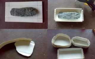 Как изготовить искусственный камень для наружных работ в домашних условиях своими руками