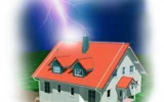 Как правильно сделать громоотвод на даче или в частном доме своими руками