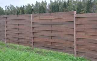 Как своими руками сделать плетеный забор из досок – особенности, инструкция
