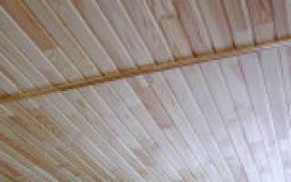 Как крепить вагонку к потолку: инструкция