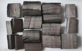 Мореная древесина — как сделать своими руками и для чего