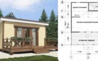 Проект дачного дома своими руками: удачная планировка и материал для строительства
