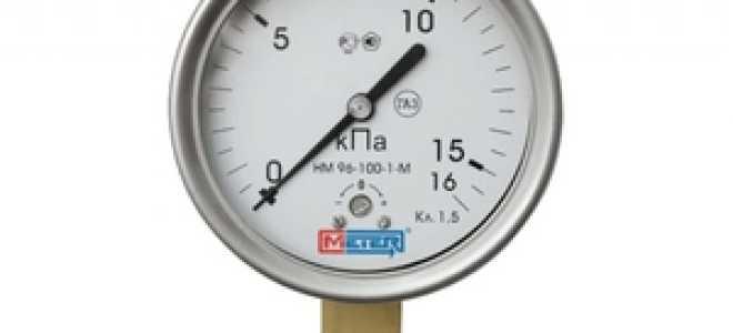 Манометр: устройство измерителя давления, его виды и свойства