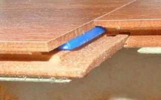 Толщина ламината с подложкой для пола: как правильно стелить подложку под ламинат