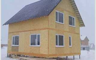 Как построить дом из плит ОСБ своими руками: преимущества и недостатки