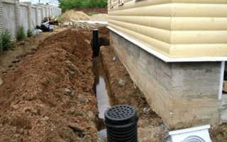 Как сделать Ливневую канализацию вокруг в частного дома своими руками