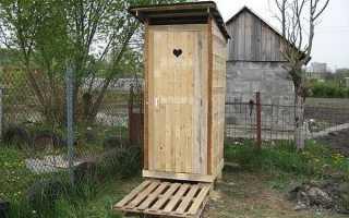 Дачный туалет- как построить своими руками