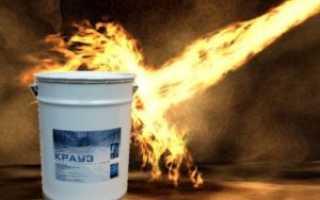 Огнезащитная краска по металлу – характеристика и свойства эмали