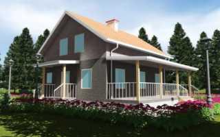 Чертежи каркасных домов- бесплатно с размерами, проекты