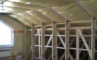 Как сделать пароизоляцию для стен каркасного дома изнутри- какой стороной класть