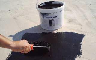 Мастика каучуковая битумная: технические характеристики и виды клеящей для гидроизоляции