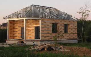 Как построить каркасный дом из металла своими руками